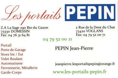 Portail,  Les Jardins du Buis David Lopes 73330 Le Pont de Beauvoisin, Domessin - Portails Pépin