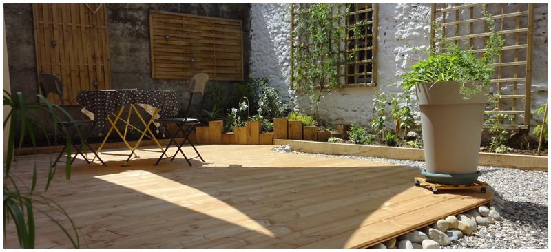 am nagements paysag s jardins du buis 73 38 terrasses dalles. Black Bedroom Furniture Sets. Home Design Ideas