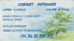 Cabinet infirmier, Florence Lopes, Stéphanie Walter, 73330, Le Pont de Beauvoisin, les jardins du buis