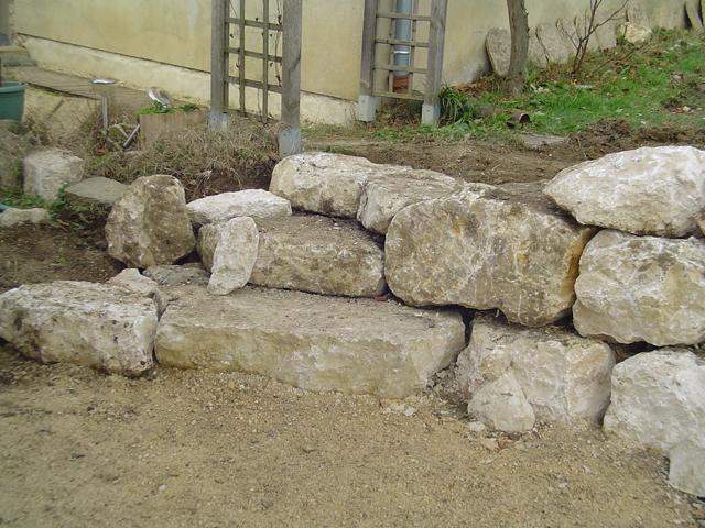 Enrochement, rocaille, à Domessin, par Les Jardins du Buis, paysagiste, 73, 38
