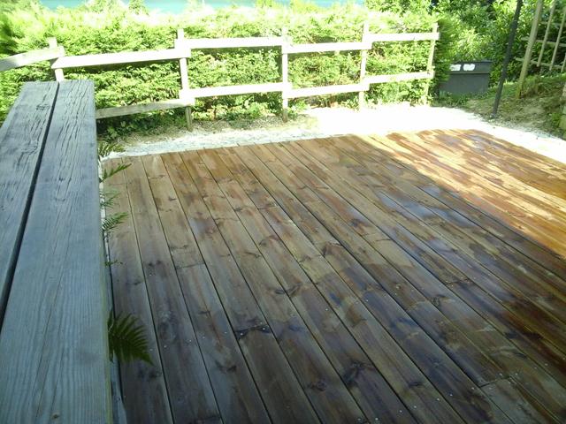 Terrasse bois à Novalaise, Les Jardins du Buis, Paysagiste, 73, 38, Pont de Beauvoisin