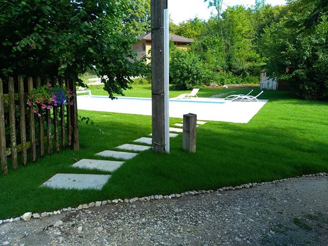 10 - Chantier à Aiguebelette - Les Jardins du Buis