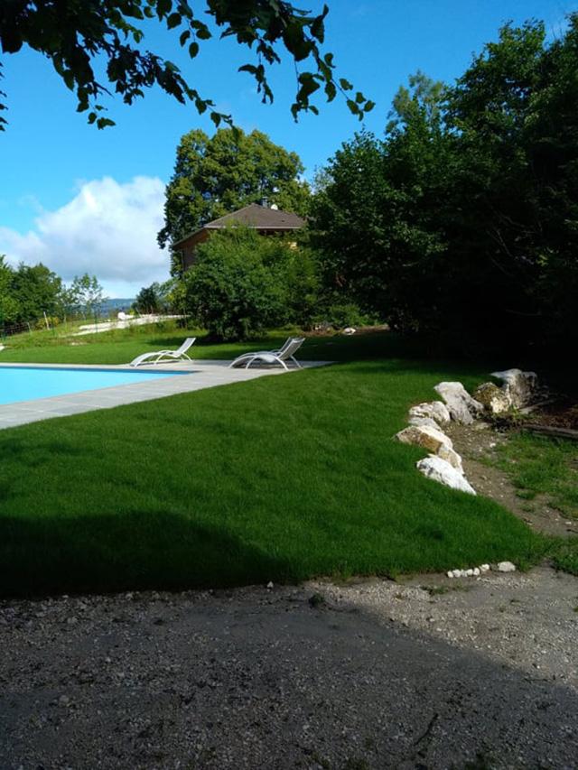 11 - Chantier à Aiguebelette - Les Jardins du Buis