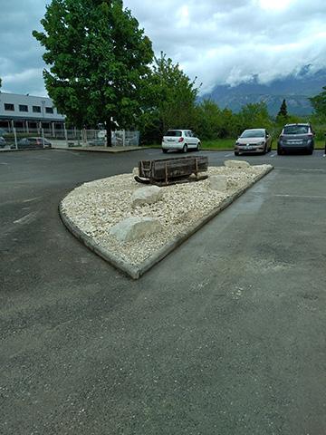 15-Changement bac à graisse et massif à Chambéry - Les Jardins du Buis paysagiste 73, 38, 01