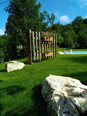 4-Avant - Chantier à Aiguebelette - Les Jardins du Buis