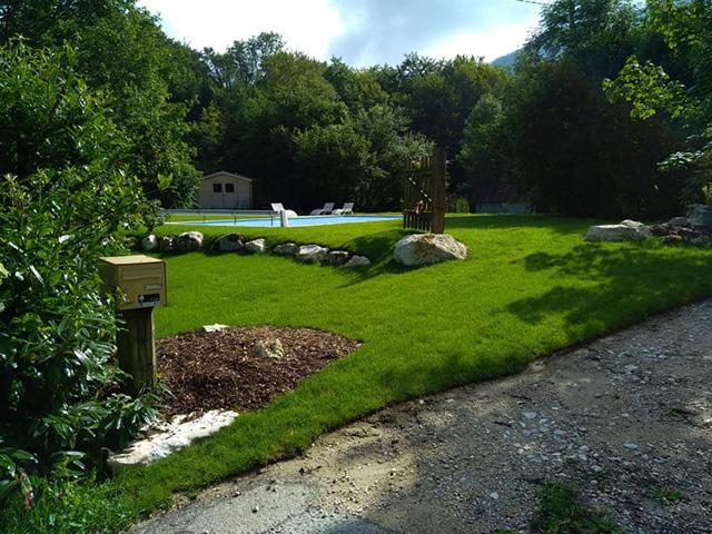 7-Après - Chantier à Aiguebelette - Les Jardins du Buis
